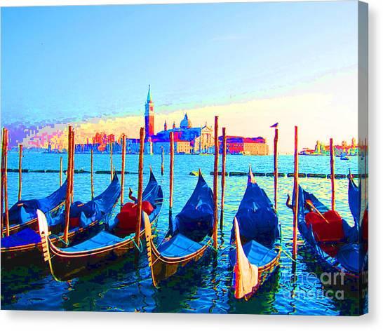 Venice Hues Canvas Print