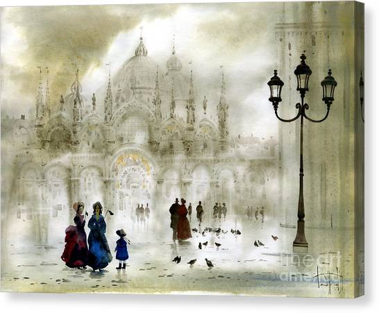 Venice IIi Canvas Print by Svetlana and Sabir Gadghievs