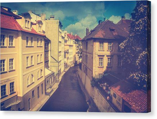 Analog Canvas Print - Venice In Prague by Taylan Apukovska