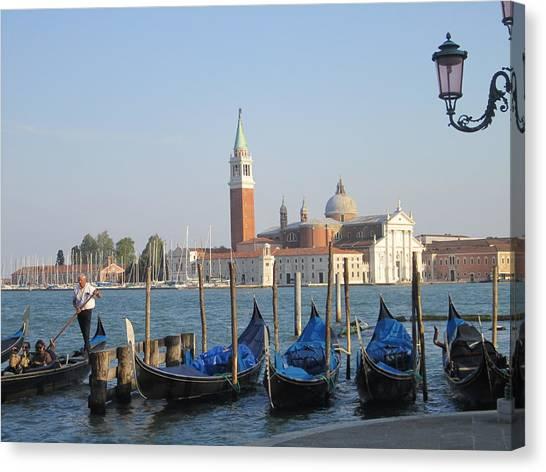 Venice In Springtime Canvas Print