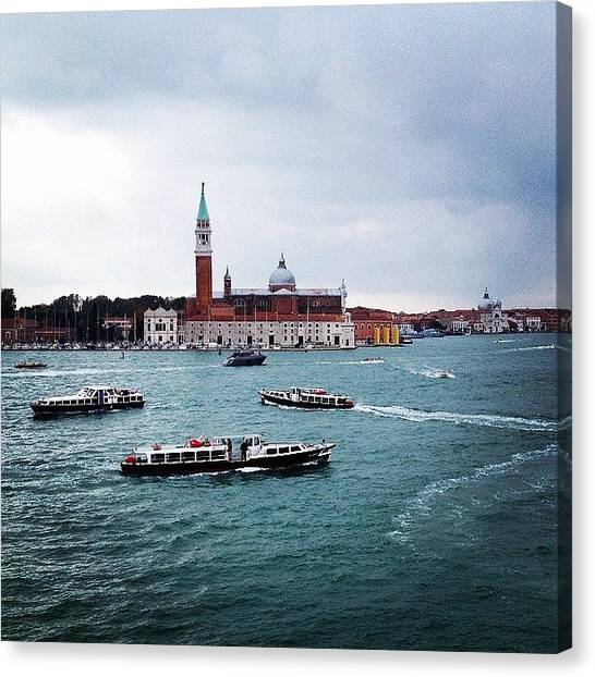Seas Canvas Print - #venice #italy #landscape #city by Luisa Azzolini