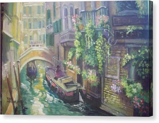 Venice -italy Canvas Print