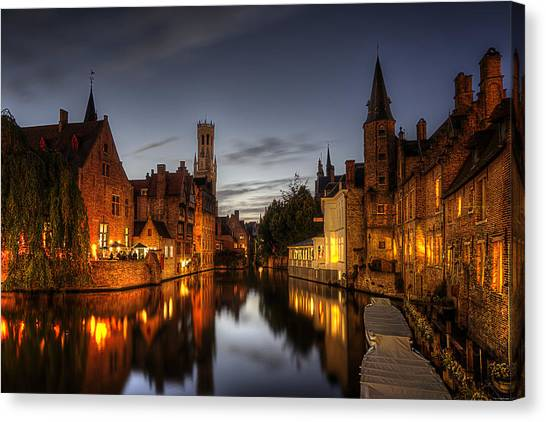 Venice Of The North Canvas Print