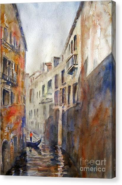 Venice Travelling Canvas Print