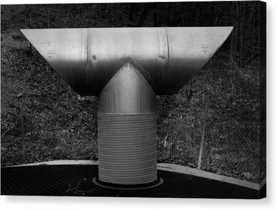 Vent Pipe Canvas Print