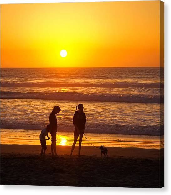 Ventura Gold Canvas Print