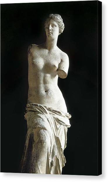 Hellenistic Art Canvas Print - Venus De Milo. 2nd C. Bc. Hellenistic by Everett