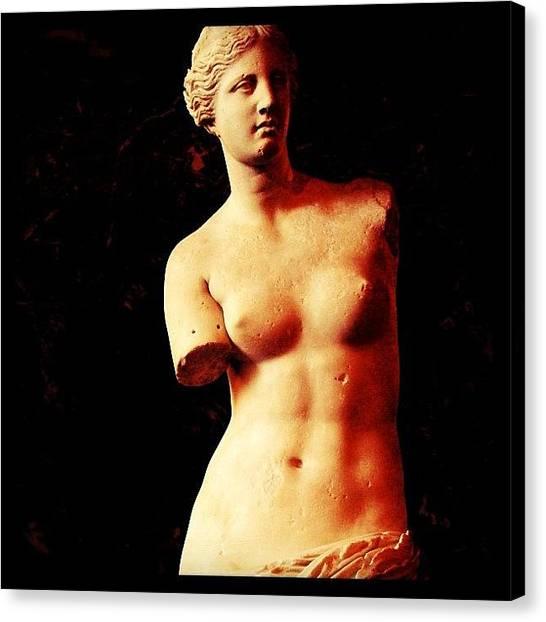 Venus Canvas Print - #venus #milo #france #frança #europa by Marco Santos