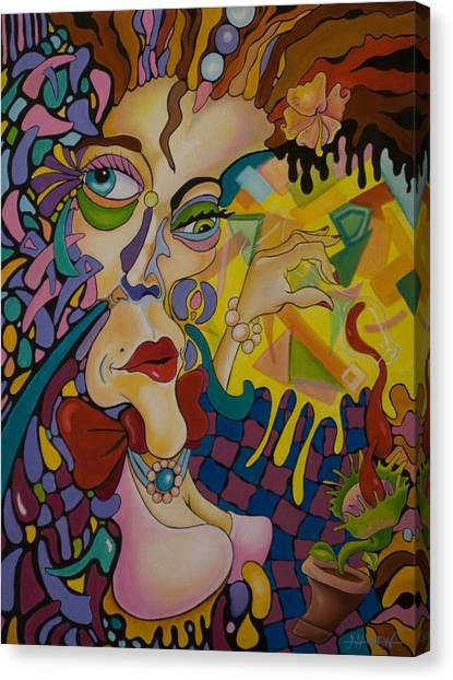 Venus Wine Trap Canvas Print