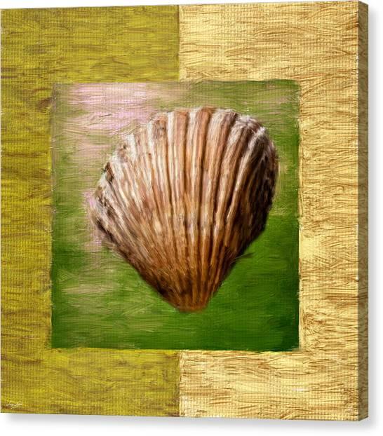 Spinach Canvas Print - Verde Beach by Lourry Legarde