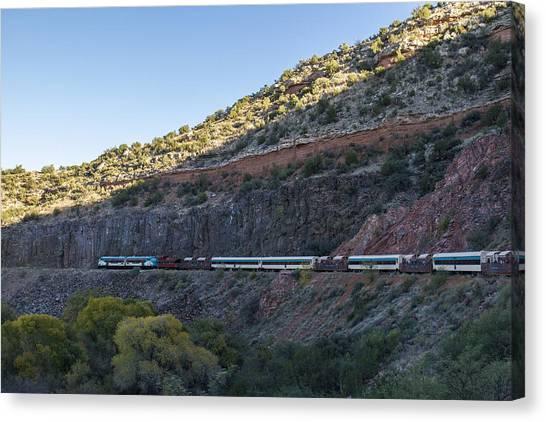 Verde Canyon Railway Landscape 1 Canvas Print