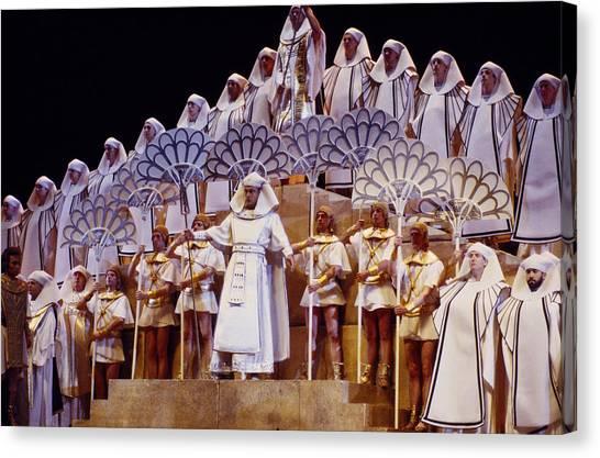 Verdi Aida Canvas Print