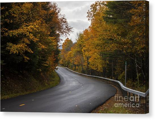 Vermont Fall Canvas Print