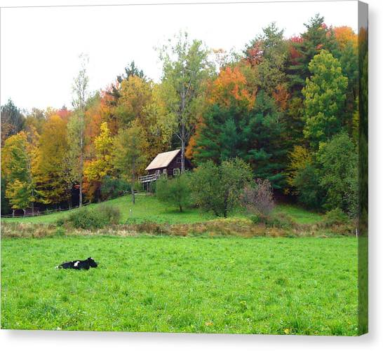 Vermont Ideal Canvas Print