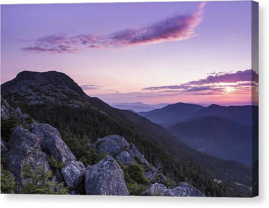 Vermont Canvas Print - Vermont Mount Mansfield Sunrise Green Mountains by Andy Gimino