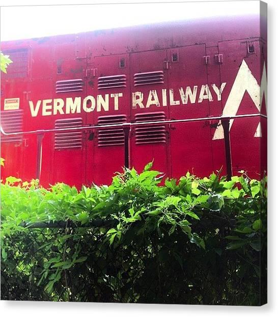 Vermont Canvas Print - Vermont Railway by Rachel Hooper