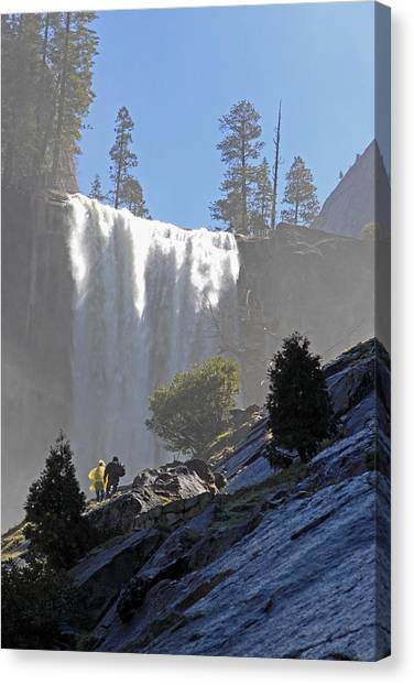 Vernal Falls Mist Trail Canvas Print