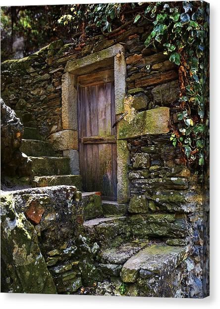 Vernassa Stone Stairway Canvas Print
