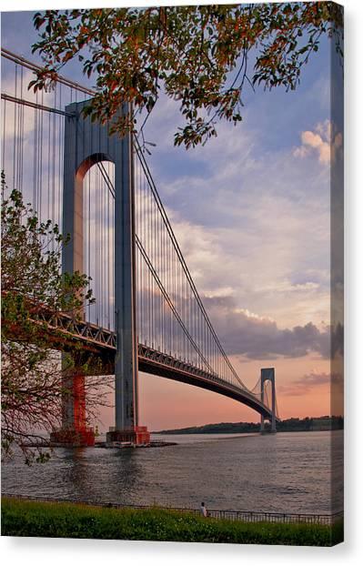 Verrazano Narrows Bridge Canvas Print