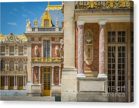 Europa Canvas Print - Versailles Splendor by Inge Johnsson