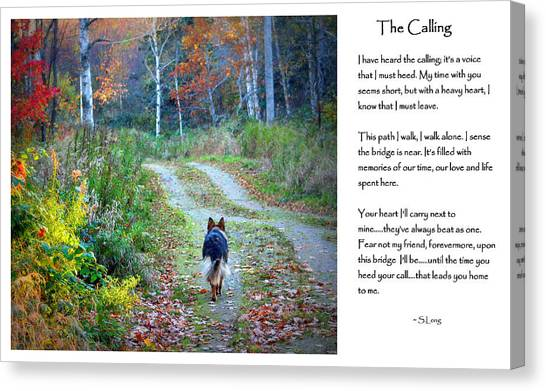 Version Two The Calling Canvas Print