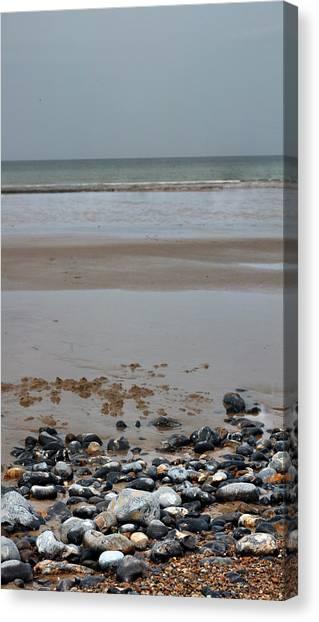 Vertical Beach II Canvas Print