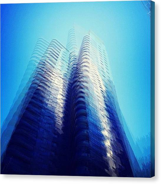 Vertigo Canvas Print - #vertigo #abstract #thispixelnation by Justin H