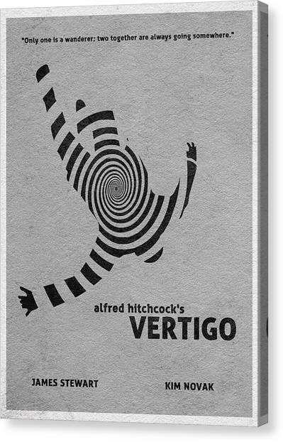 Vertigo Canvas Print - Vertigo by Inspirowl Design