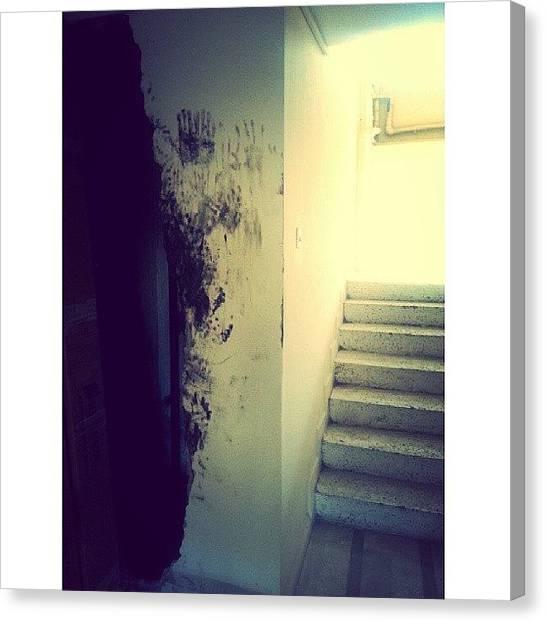 Vertigo Canvas Print - #vertigo by Deniz Ipek