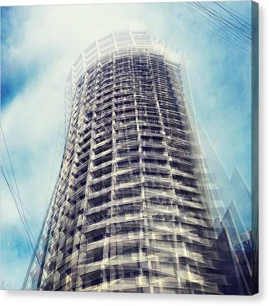 Vertigo Canvas Print - #vertigo #thispixelnation #architecture by Justin H