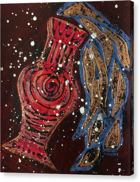 Vessel Of Abundance I Canvas Print