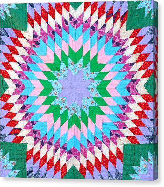 Vibrant Quilt Canvas Print