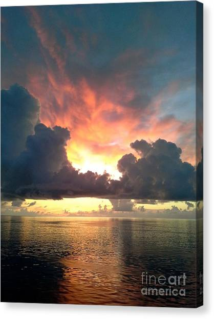 Vibrant Skies 2 Canvas Print