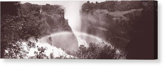 Victoria Falls Canvas Print - Victoria Falls Zimbabwe Africa by Panoramic Images