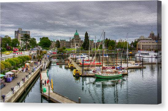 Victoria Inner Harbour Canvas Print