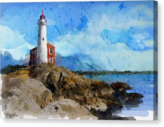 Vancouver Island Canvas Print - Victoria Scenery 1 by Mahnoor Shah