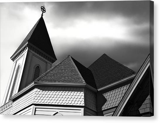 Victorian Church Canvas Print by Larry Butterworth