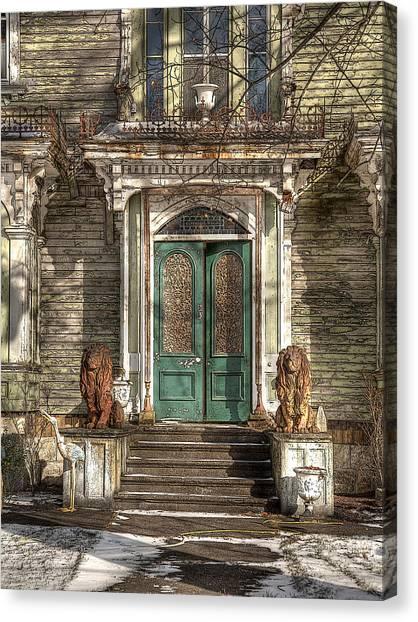 Victorian Entry Canvas Print