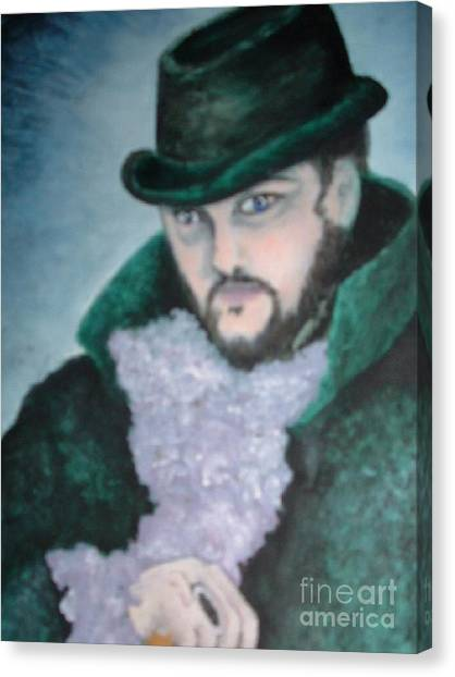 Victorian Gentleman Canvas Print