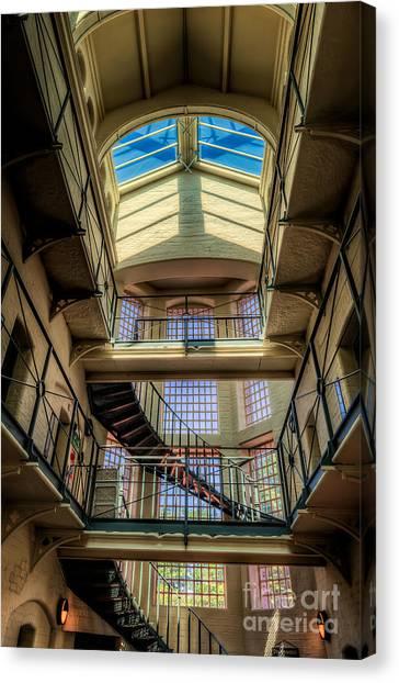 Detention Canvas Print - Victorian Jail by Adrian Evans