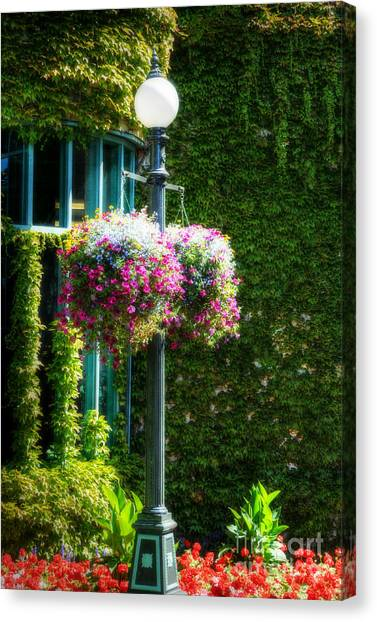 Victorian Light Post Canvas Print