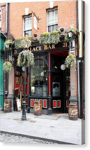 Canvas Print - Victorian Pub - Palace Bar - Dublin by Christiane Schulze Art And Photography