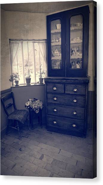 Drawers Canvas Print - Victorian Room by Amanda Elwell