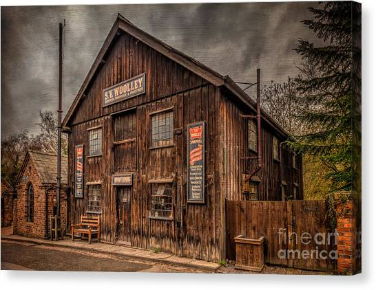 Undertaker Canvas Print - Victorian Sawmill by Adrian Evans