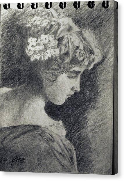 Victorian Teen Canvas Print
