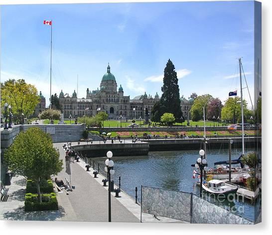 Victoria's Parliament Buildings Canvas Print