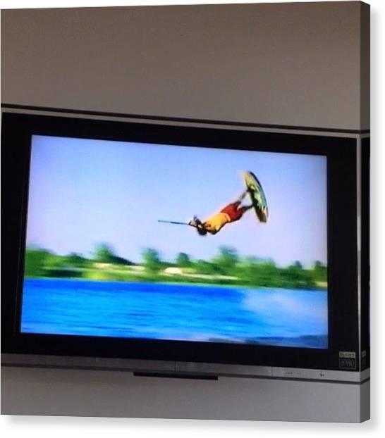 Fluids Canvas Print - #video Afternoon. Footage From #fluid by Glen Bryden