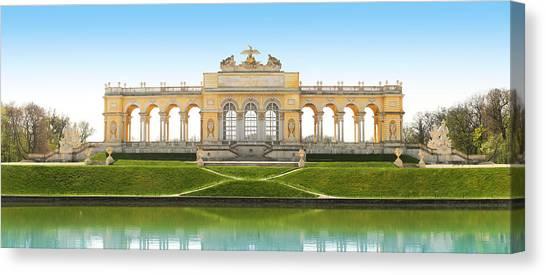 Vienna - Gloriette - Schoenbrunn Canvas Print