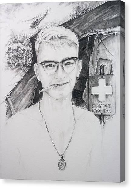 Vietnam Medic Canvas Print