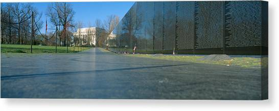 Vietnam War Canvas Print - Vietnam Veterans Memorial, Washington Dc by Panoramic Images